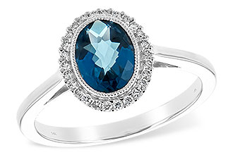 D235-28384: LDS RG 1.27 LONDON BLUE TOPAZ 1.42 TGW