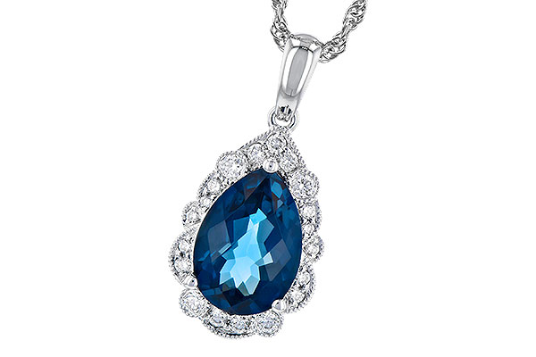 D318-97529: NECK 2.25 LONDON BLUE TOPAZ 2.40 TGW