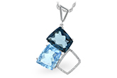 E234-42938: NECK 10.60 BLUE TOPAZ 10.73 TGW