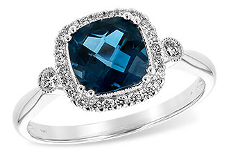 F235-28384: LDS RG 1.62 LONDON BLUE TOPAZ 1.78 TGW